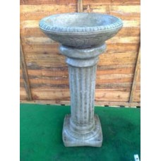 Column Bird Bath