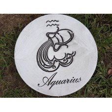 Zodiac Stepping Stones - Aquarius
