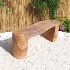 Rainbow Curved Bench