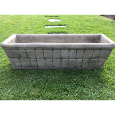 Brick Column With Flame