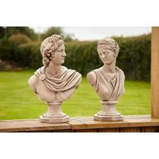 Diana & Apollo Bust