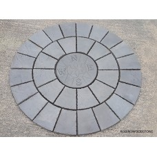 1.8m Compass Charcoal