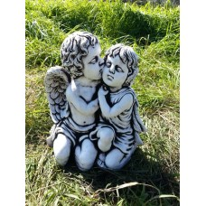 Kissing Cherub Medium
