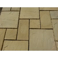 Random Paving Cotswold Buff 10 Sqm