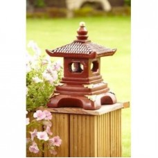 Single Tier Painted Pagoda