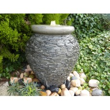 Slate Urn Water Feature