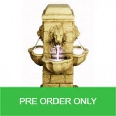 4 Face Lion Fountain