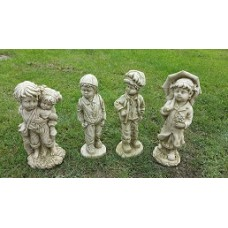 Set Of Four Statues