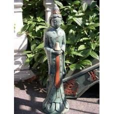 Oriental Woman Green